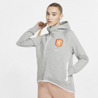 Veste style cape de football Netherlands Tech Fleece pour Femme