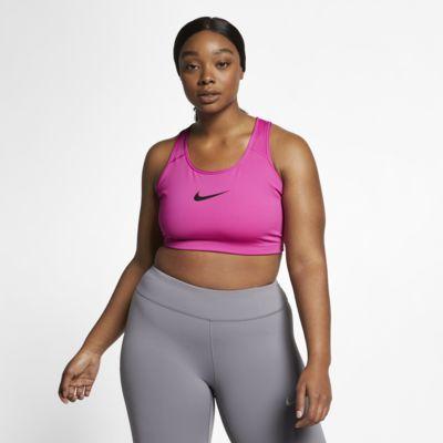 Nike Swoosh Women's Medium-Support Sports Bra (Plus Size)