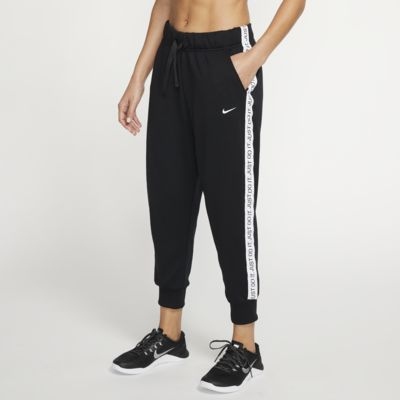 Pantaloni da training in fleece a 7/8 Nike Dri-FIT Get Fit - Donna