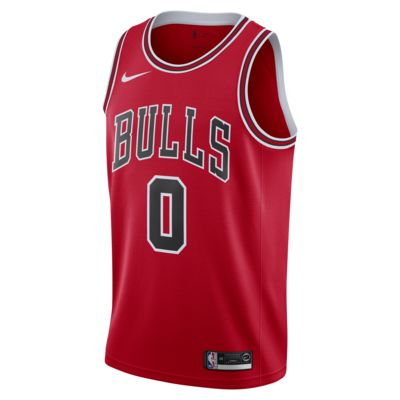 Coby White Bulls Icon Edition Men's Nike NBA Swingman Jersey