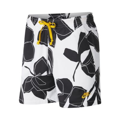 กางเกงขาสั้นผู้ชายแบบทอลายดอกไม้ Nike Sportswear