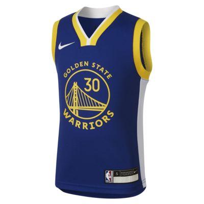 金州勇士队 Icon Edition Nike NBA Replica 幼童球衣
