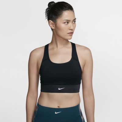 Nike Swoosh Rebel Women's Pocket Medium-Support Sports Bra