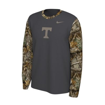 Nike College (Tennessee) Realtree® Men's Long-Sleeve T-Shirt