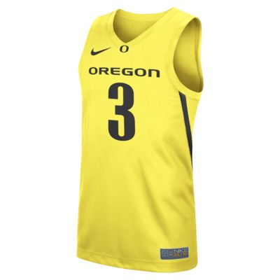 Nike College Replica (Oregon) Men's Basketball Jersey