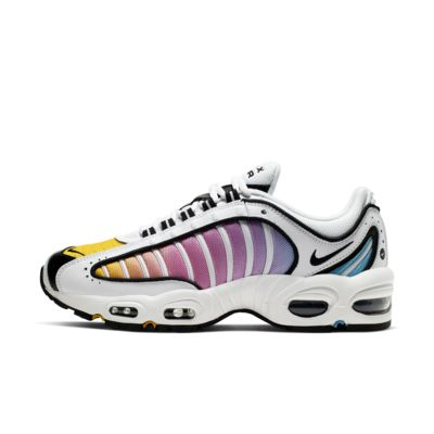 Shop Nike Women's Air Max Tailwind 8 GreenBlack Orange