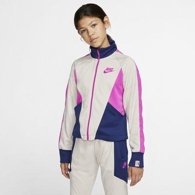 Giacca con zip a tutta lunghezza Nike Sportswear Heritage - Ragazza