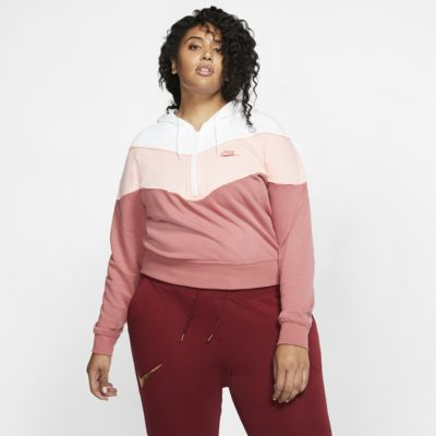 Nike Sportswear Heritage Women's 1/2-Zip Top (Plus Size)