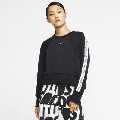 Maglia a girocollo da training in fleece JDI Nike Dri-FIT Get Fit - Donna