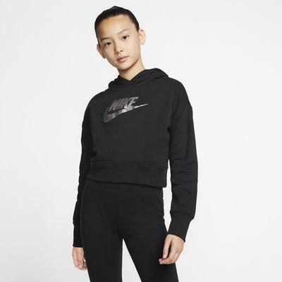 Nike Sportswear Older Kids' (Girls') Cropped Hoodie