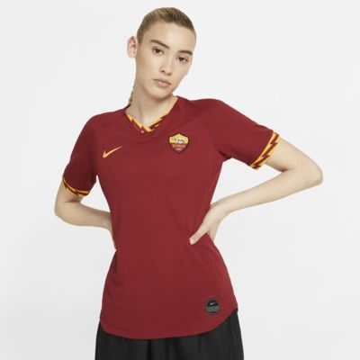 A.S. Roma 2019/20 Stadium Home-fodboldtrøje til kvinder