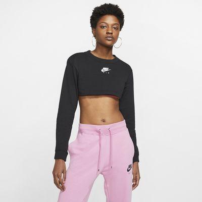 Nike Air Women's Long-Sleeve Crop Top