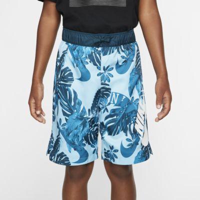 Tkané kraťasy Nike Sportswear s potiskem pro větší děti (chlapce)