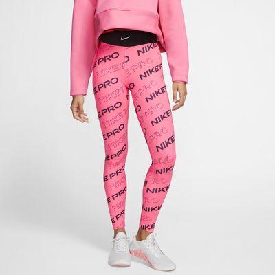 Nike Pro Damen-Tights mit Print
