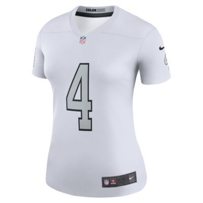 NFL Oakland Raiders Color Rush Legend (Derek Carr) Women's Football Jersey