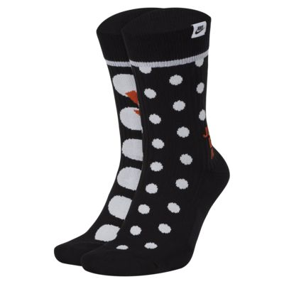 NIKE SNKR SOX 运动袜(2 双)