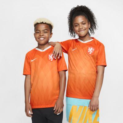 Maillot de football Netherlands 2019 Stadium Home pour Enfant plus âgé