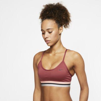 Sport-BH med lätt stöd Nike Indy Icon Clash för kvinnor