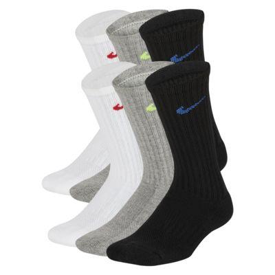 jueves Una buena amiga Sequía  Nike Everyday Kids' Cushioned Crew Socks (6 Pairs). Nike.com