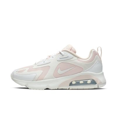 Nike Air Max 90 Sequins Women Beige Pink Training Shoes