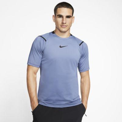Prenda para la parte superior de manga corta para hombre Nike Pro AeroAdapt