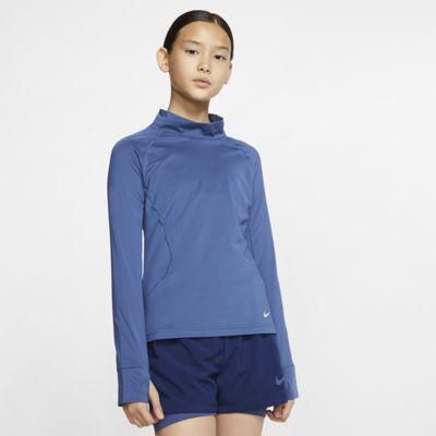Prenda para la parte superior de manga larga para niñas Nike Pro