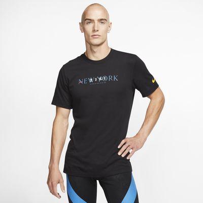 Playera de running para hombre Nike Dri-FIT NYC
