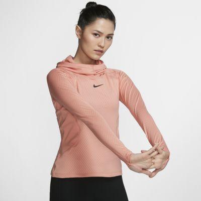 Nike Pro HyperWarm 女子训练连帽衫