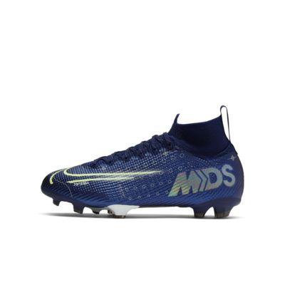 Футбольные бутсы для игры на твердом грунте для школьников Nike Jr. Mercurial Superfly 7 Elite MDS FG