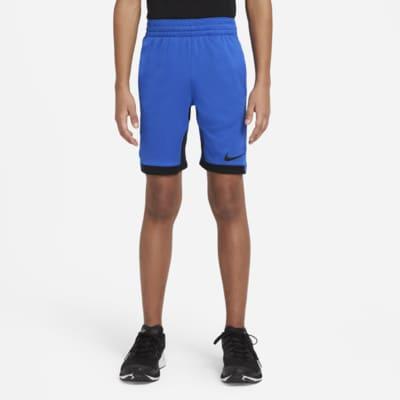 Shorts de entrenamiento para niños talla grande Nike Dri-FIT Trophy
