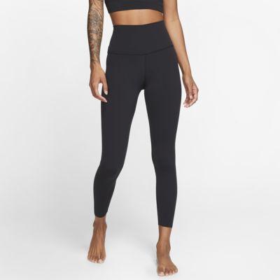 กางเกงรัดรูปผู้หญิง 7/8 ส่วน Infinalon Nike Yoga Luxe