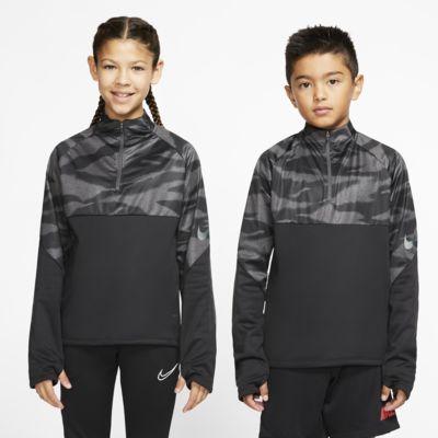 Prenda para la parte superior de entrenamiento de fútbol para niños talla grande Nike Therma Shield Strike