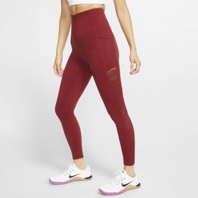 Nike díszített szegélyű, testhezálló női edzőnadrág