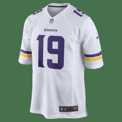 NFL Minnesota Vikings (Adam Thielen) Men's Game Football Jersey