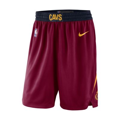 Shorts Nike NBA Swingman para hombre Cleveland Cavaliers Icon Edition