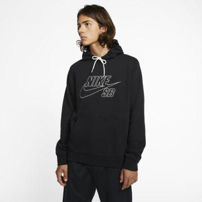 Nike SB kapucnis, belebújós gördeszkás pulóver
