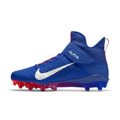 Nike Alpha Menace Pro 2 Mid By You Custom Men's American Football Boot