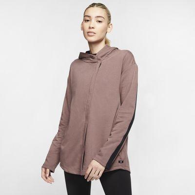 Женская флисовая куртка с молнией во всю длину Hurley Dri-FIT Wash