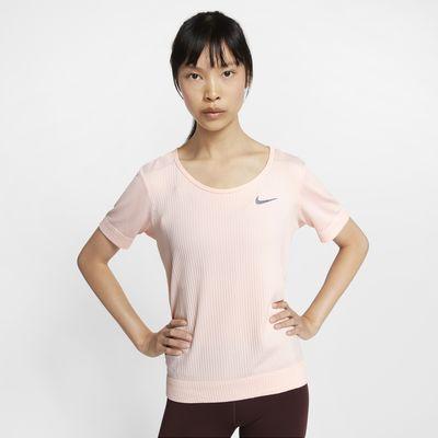 Haut de running à manches courtes Nike Infinite pour Femme