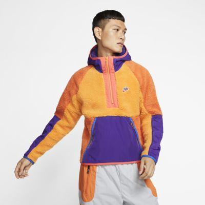 Nike Sportswear 1/2-Zip Sherpa Hoodie