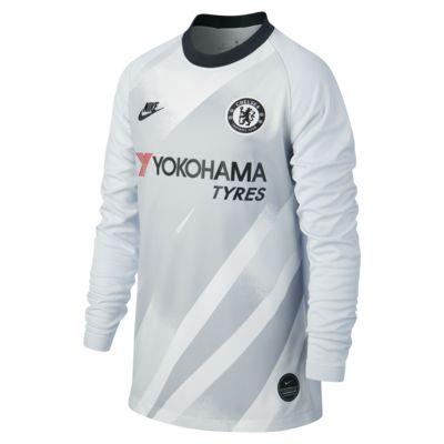 Fotbollströja Chelsea FC 2019/20 Stadium Goalkeeper för ungdom