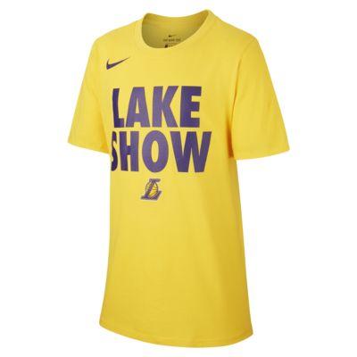Tee-shirt NBA Los Angeles Lakers Nike Dri-FIT pour Garçon