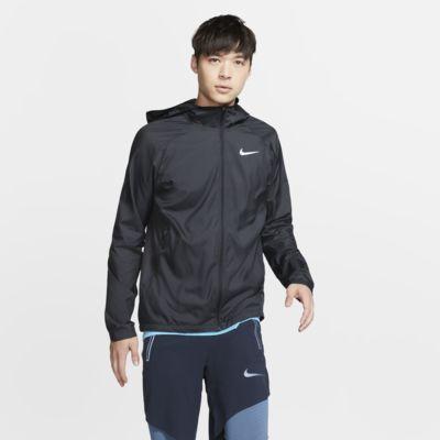 ナイキ エッセンシャル メンズ フーデッド ランニングジャケット