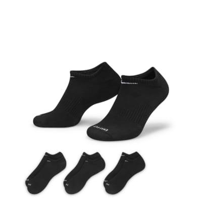 Nike Value Cushioned No-Show Lot de 3 paires de chaussettes