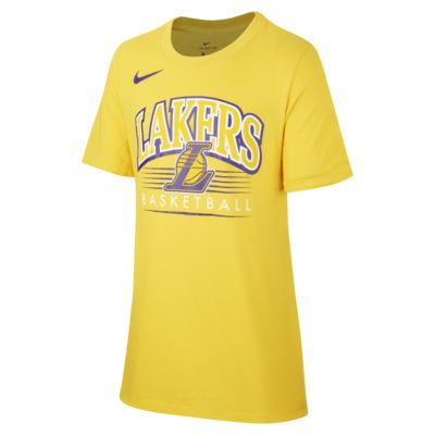 Los Angeles Lakers Nike Dri-FIT NBA-T-Shirt für Jungen