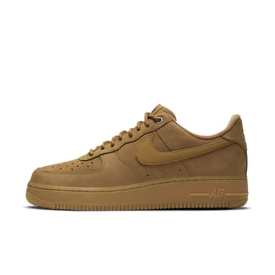 nike air force 1 marrones