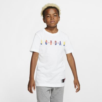 大男孩t恤短袖_Air Jordan 大童(男孩)短袖T恤-耐克(Nike)中国官网