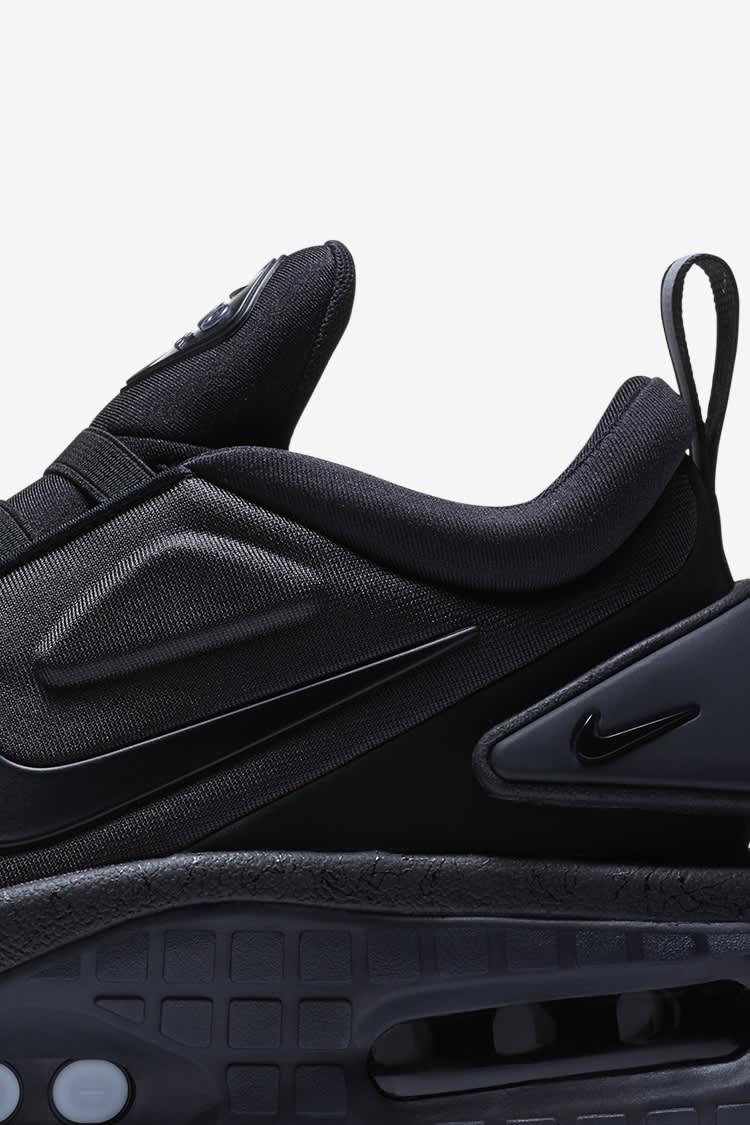 Adapt Auto Max Triple Black Release Date Nike Snkrs