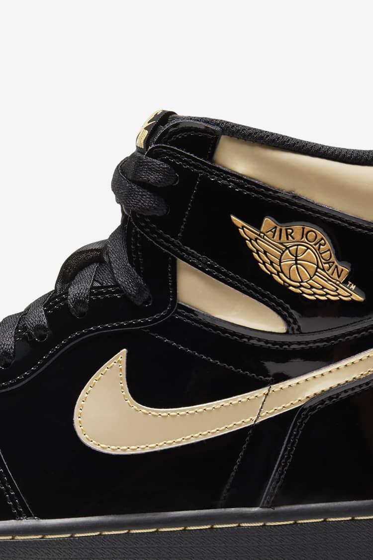 Air Jordan 1 'Black \u0026 Gold' Release