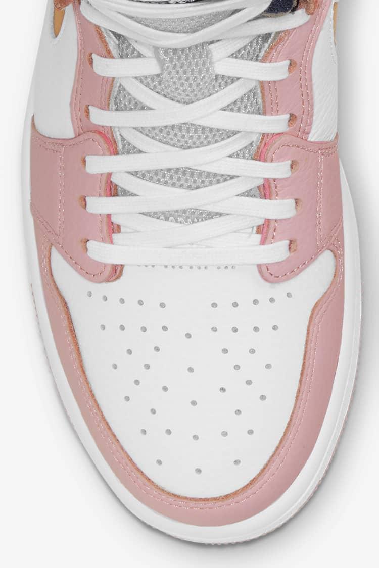 Air Jordan 1 Zoom Pink Glaze Voor Dames Releasedatum Nike Snkrs Nl